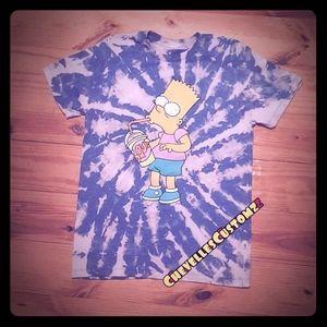 Bart Simpson Tie Dye Tee